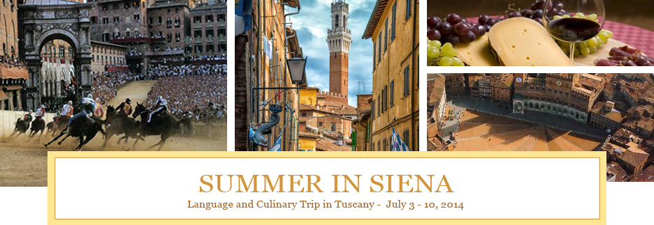 Summer in Siena 2014